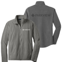 F223 - Microfleece Jacket with LASER ETCH BACK