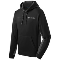 ST235 - Sport-Wick Fleece Colorblock Hooded Pullover