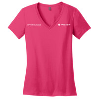 DM1170L - Ladies Perfect Fit V-Neck T-Shirt